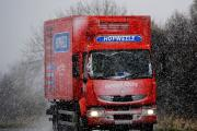Snow causes driving problems
